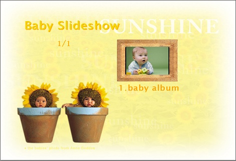 baby slideshows