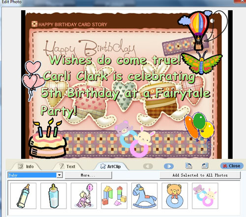 virtual birthday cards templates