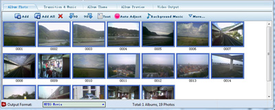 image slideshow to video converter